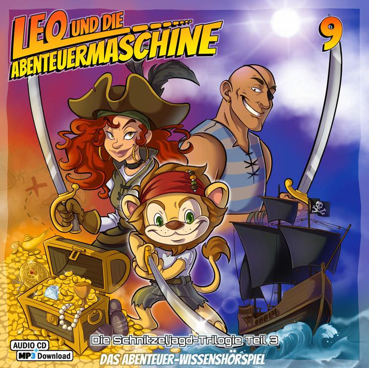 Leo und die Abenteuermaschine 9