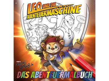 Leo und die Abenteuermaschine - Das Malbuch