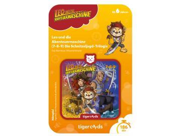 Tigercard Leo und die Abenteuermaschine 7-8-9