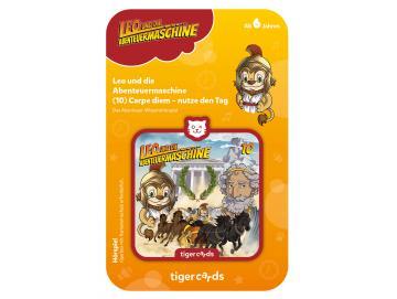 Tigercard Leo und die Abenteuermaschine 10