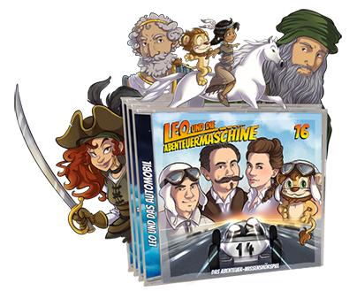Leo und die Abenteuermaschiene CDs