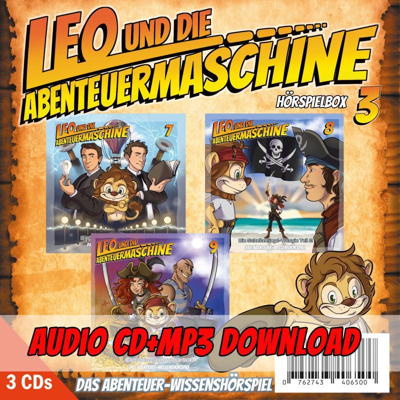 Leo - Hörspielbox 3
