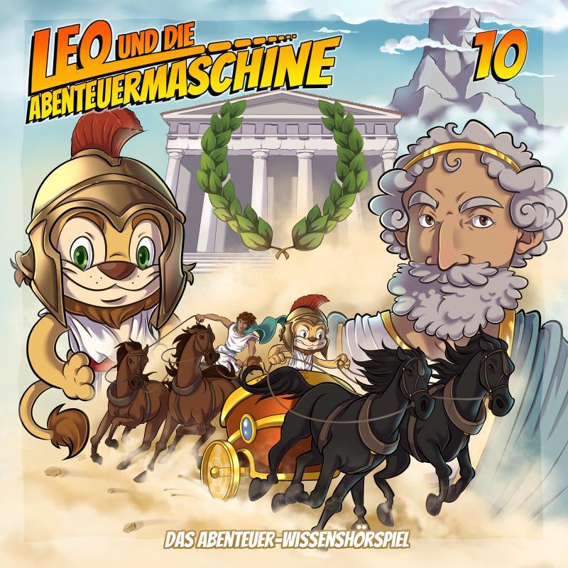 Leo und die Abenteuermaschine 10