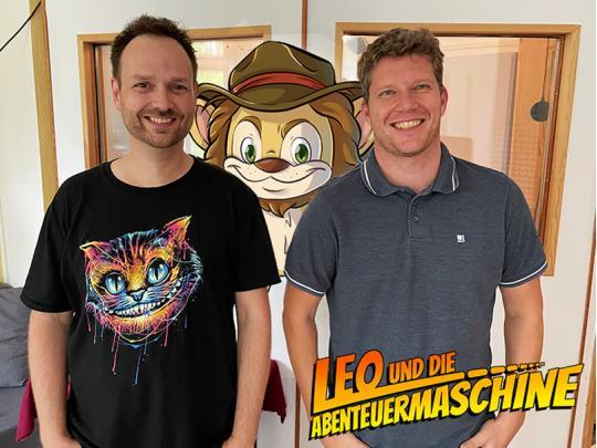 Sprecher Marco Rosenberg & Autor Matthias Arnold