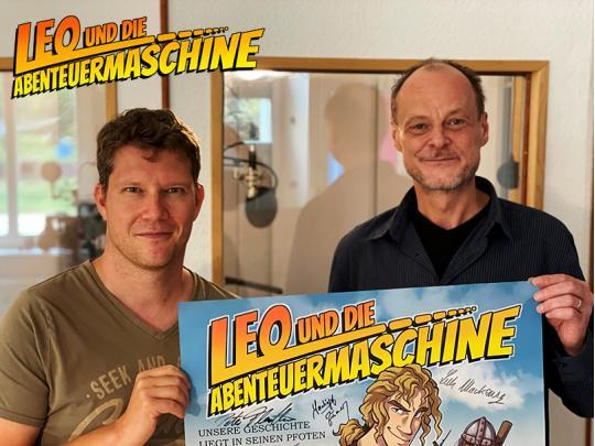 Autor Matthias Arnold & Sprecher Peter Flechtner
