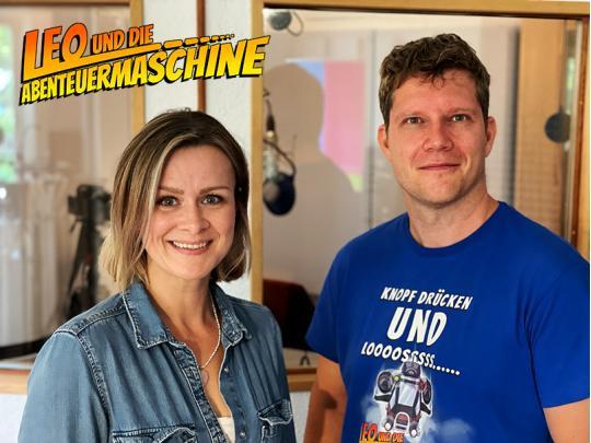 Theaterschauspielerin Katrin Zierof & Auto Matthias Arnold